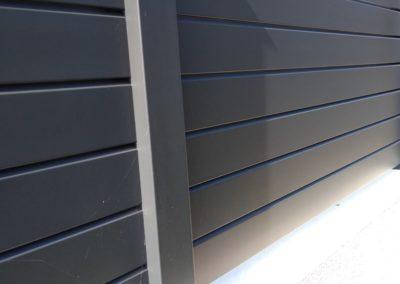 palissade alu 1 - Terrasse & clôture