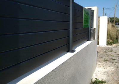 palissade alu 2 - Terrasse & clôture