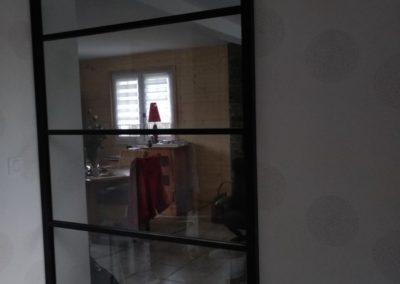 porte coulissante intérieure - Menuiserie