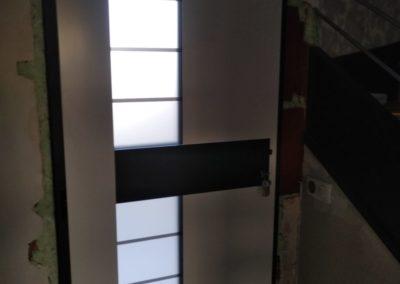 remplacement dune porte dentrée 2 - Menuiserie