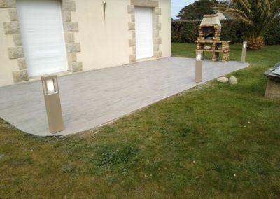 terrasse carrelage 1 - Terrasse & clôture