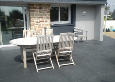 terrasse dalles sur plots 2 - Terrasse & clôture